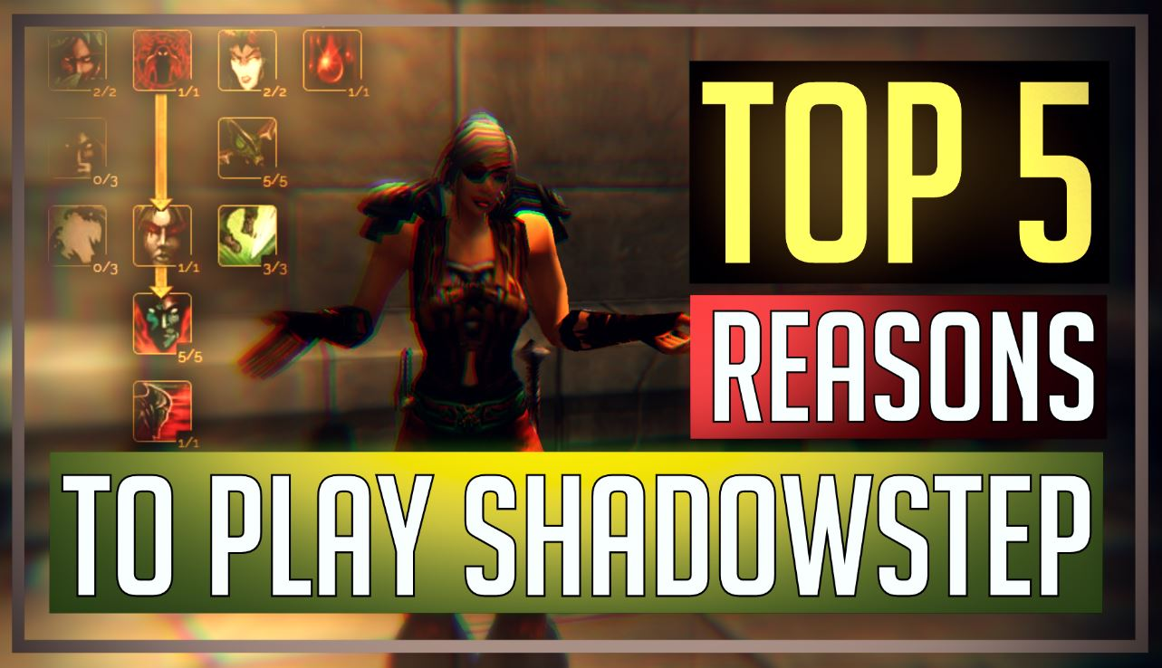 5 reasons to play shadowstep rogue on BC Classic